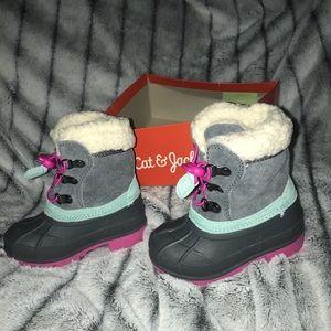 Little girl winter boots